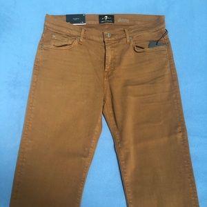 Men's  Slim straight leg 7 jeans